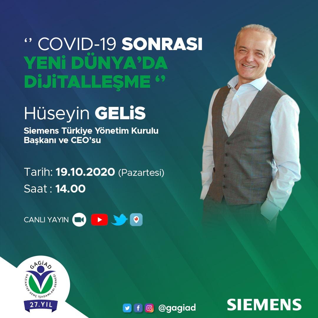 ''COVİD-19 SONRASI YENİ DÜNYA'DA DİJİTALLEŞME'' WEBİNARIMIZA DAVETLİSİNİZ