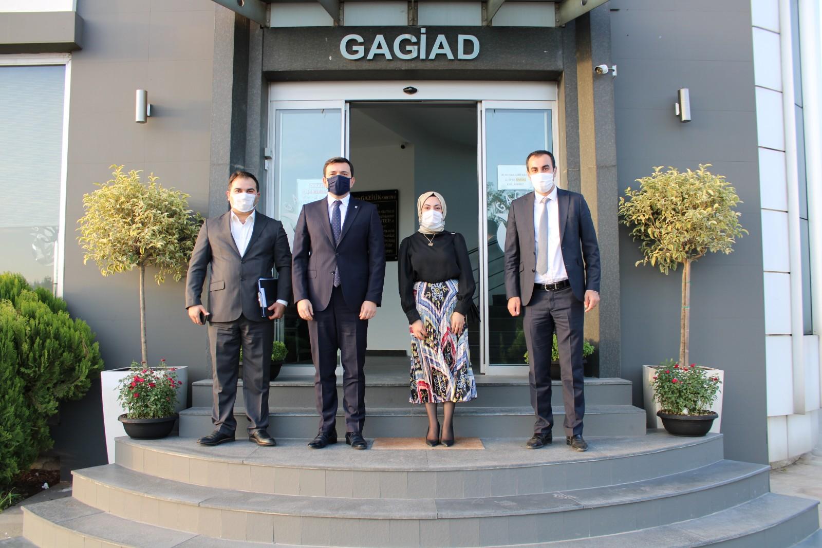 DEVA PARTİSİ'NDEN GAGİAD'A ZİYARET
