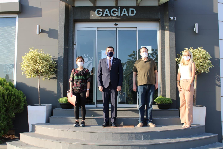 DÜNYA GAZETESİ'NDEN GAGİAD'A ZİYARET