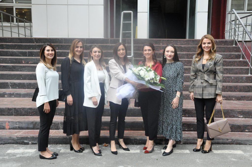 GAGİAD Kadınlar Kurulumuz, 5.Zırhlı Tugay Komutanı Hacı Halil Osma'nın Eşi Ayla Osma'yı Ziyaret Etti.