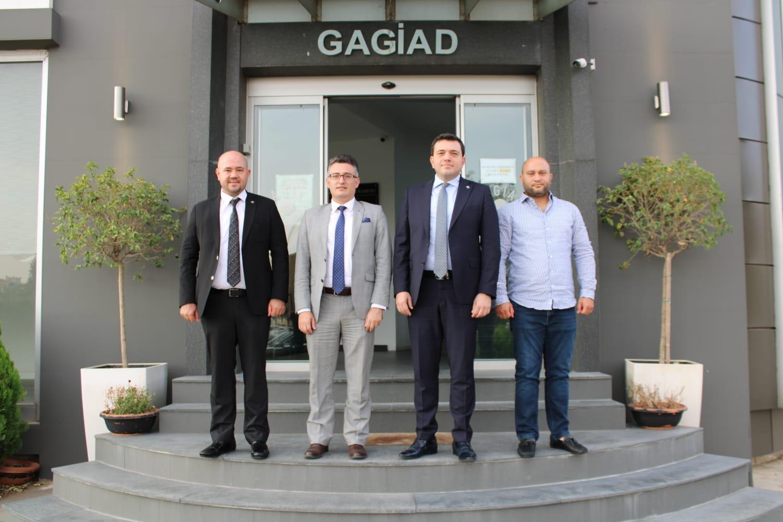 KOSGEB GAZİANTEP MÜDÜRÜ MUHAMMED PAKSOY'DAN GAGİAD'A ZİYARET