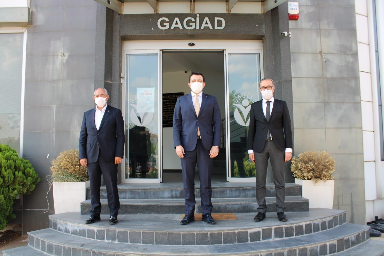 VERGİ DAİRESİ VE SGK'DAN GAGİAD'A ZİYARET